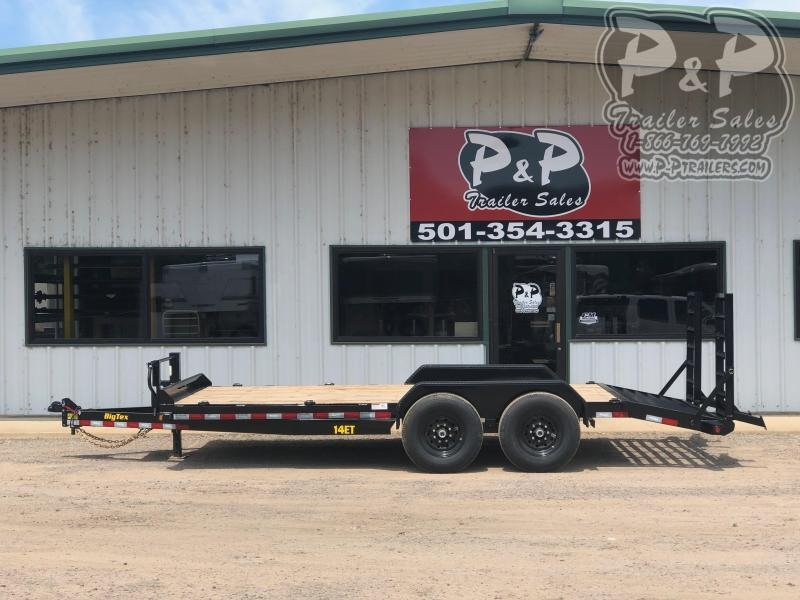 2021 Big Tex Trailers 14ET-18BK-KR 18 ' Equipment Trailer