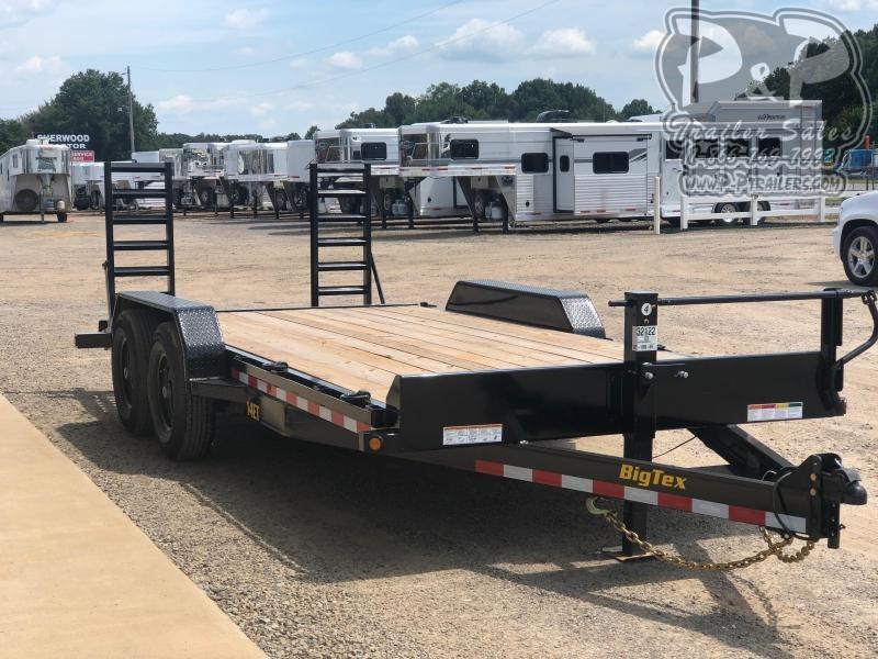 2021 Big Tex Trailers 14ET-18BK-KR 18 ' Equipment Trailer