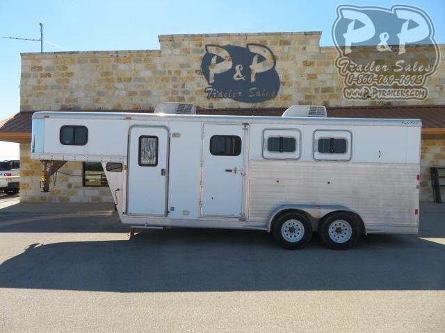 2007 Exiss Trailers 7306 3 Horse Slant Load Trailer 6 FT LQ