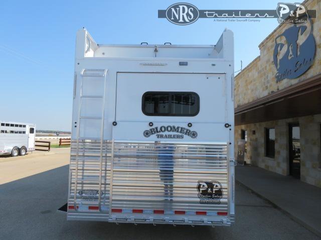 2021 Bloomer 87TRN Super Tack Trainer 7 Horse Slant Load Trailer