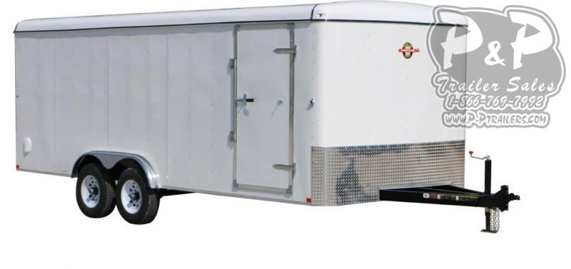 2021 Carry-On 8.5x16CGR 16 ' Enclosed Cargo Trailer
