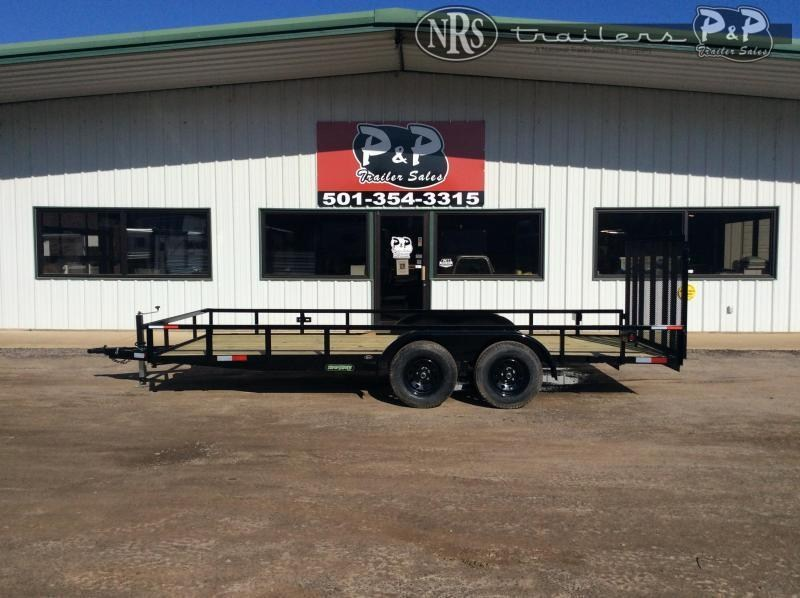 2020 Wicked Trailer Manufacturing UT8218TA 18 ' Utility Trailer