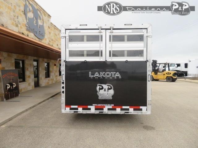2021 Lakota Charger LE81415SRB 34 ' Livestock Trailer LQ