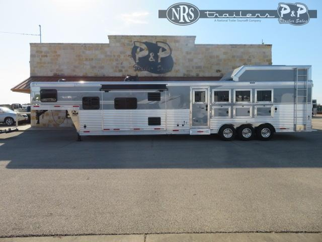 2021 SMC Horse Trailers SL8416SSRTRSL 4 Horse Slant Load Trailer 16 FT LQ w/ Slideouts