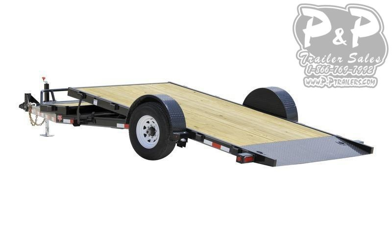 2021 PJ Trailers Single Axle HD (T1) Tilt Flatbed Trailer