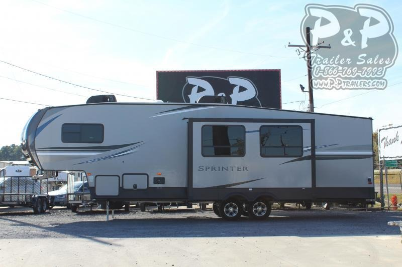 2019 Keystone Sprinter Campfire 29FWBH 34.58 ft Fifth Wheel Campers RV