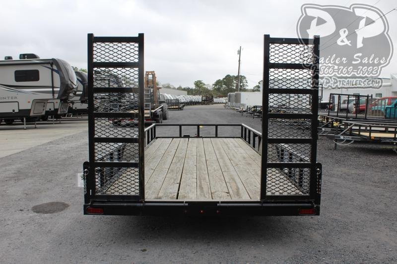 2020 P and P PPTA20X83GDFURPT 20 ft Utility Trailer