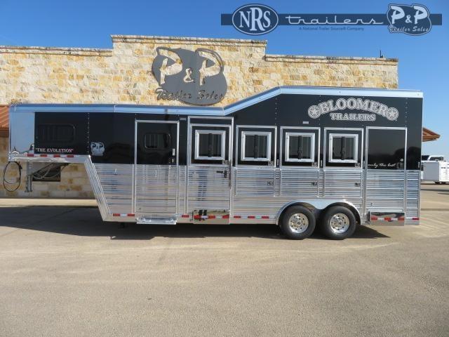 2021 Bloomer 847TRNIP 4 Horse Slant Load Trailer