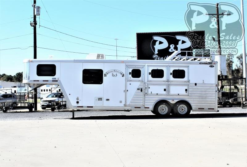 2005 Cimarron Trailers Norstar 8308 3 Horse Slant Load Trailer LQ