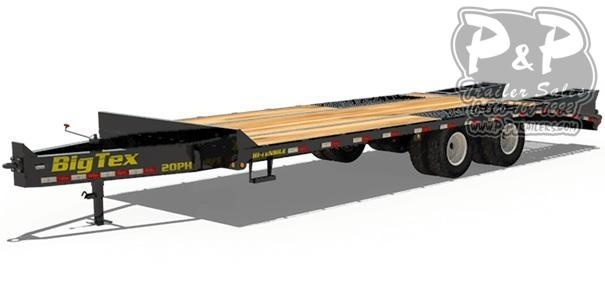 2021 Big Tex Trailers 20PH-20+5 Equipment Trailer