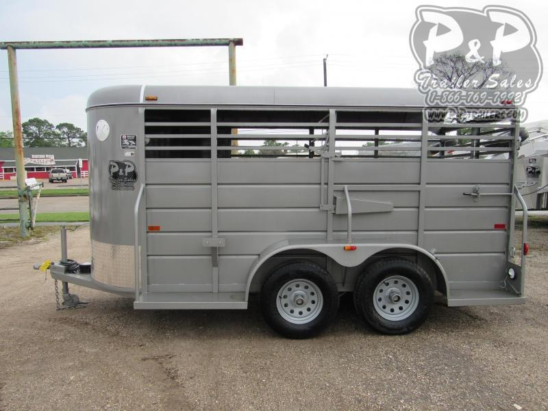 2020 W-W Trailer 14 x 5 Stock 14 ft Livestock Trailer