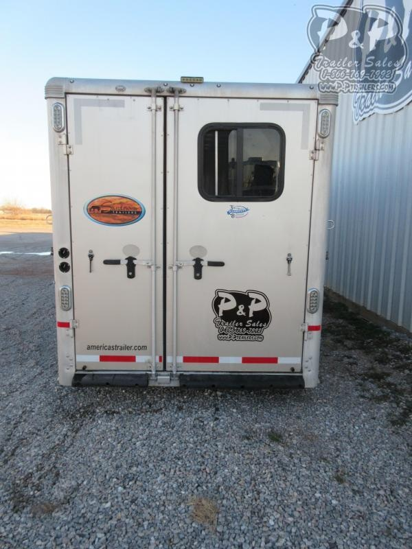 2017 Sundowner Trailers 4 Horse Super Sport 4 Horse Slant Load Trailer