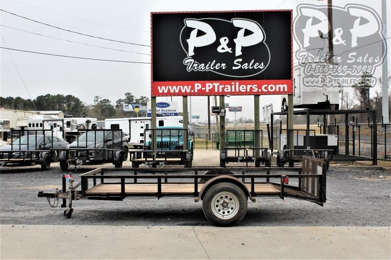 2007 Double A Intruder 5X12 12 ' Utility Trailer