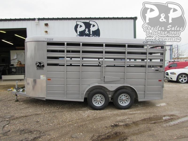 2021 CM CMS6630-1400235 14 ' Livestock Trailer