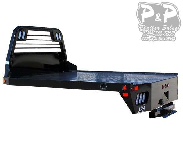 CM SS Steel Flat Deck Body 94x94x60 Truck Bed