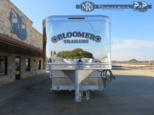 2021 Bloomer 8418PCOLCB 4 Horse Slant Load Trailer 18 FT LQ w/ Slideouts