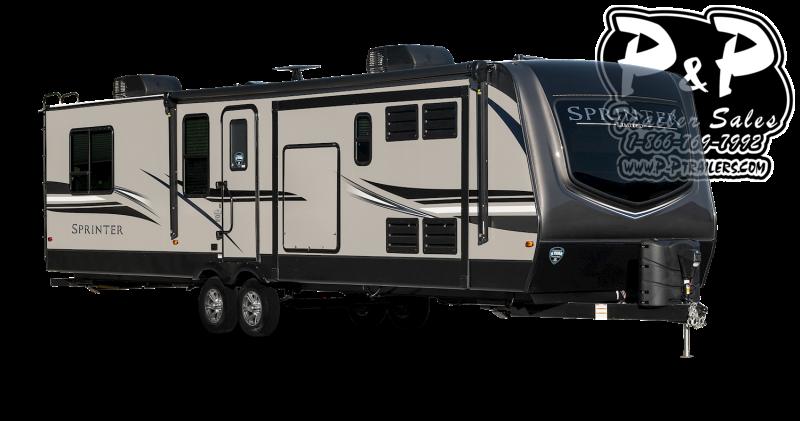 2021 Keystone RV Sprinter Limited 333FKS 445 Travel Trailer RV