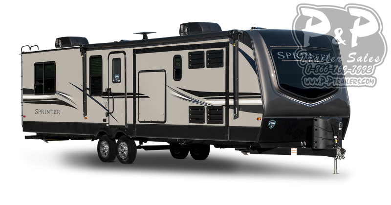 "2021 Keystone RV Sprinter Limited 333FKS 445 "" Travel Trailer RV"
