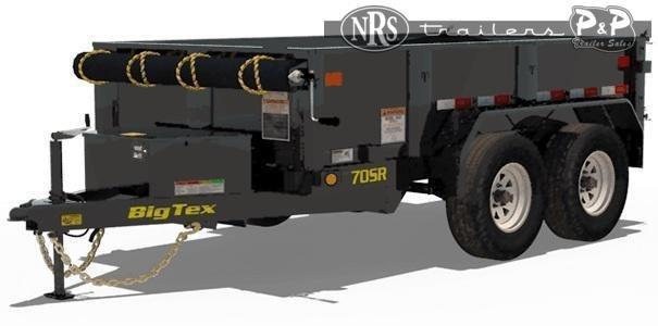 2021 Big Tex Trailers 70SR 10 5WDD 10 Dump Trailer