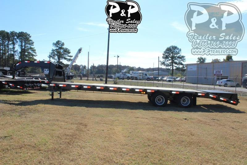 """2021 P and P PPDT255X102HDMRLP 360 """" Flatbed Trailer"""