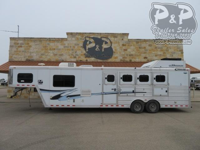 2011 Cimarron Trailers 8410 Outlaw Proline 4 Horse Slant Load Trailer 10 FT LQ