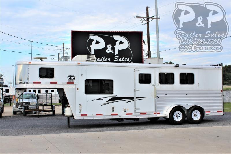 2011 Exiss Trailers 6308LQ 3 Horse Slant Load Trailer 8 FT LQ