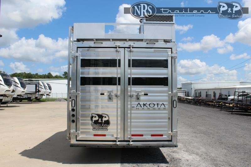 2022 Lakota LE81415RK 37 ' Livestock Trailer LQ
