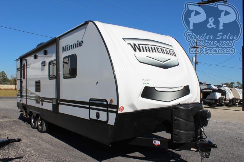 "2020 Winnebago Minnie 2701RBS 29' 7"" ft Travel Trailer RV"