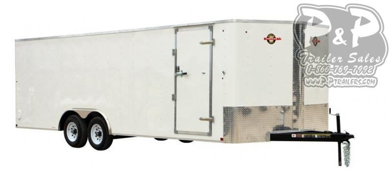 2021 Carry-On 8.5X24CGRV 24 ' Enclosed Cargo Trailer