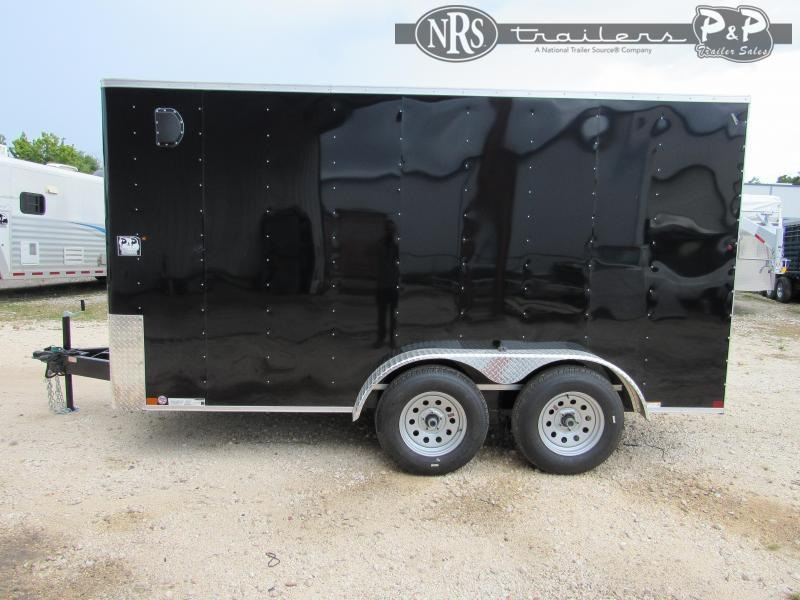 2021 Carry-On 7X14 CGRBN Enclosed Cargo Trailer