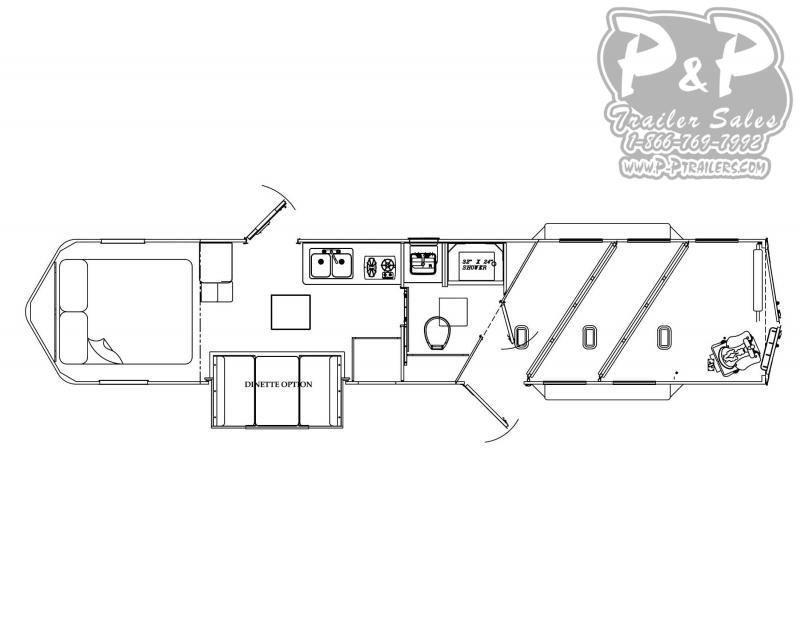 2021 Bison Trailers Ricochet RC7311.S 3 Horse Slant Load Trailer 11 FT LQ With Slides