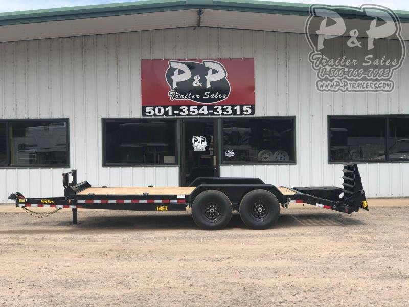 2020 Big Tex Trailers 14ET-18BK-MR