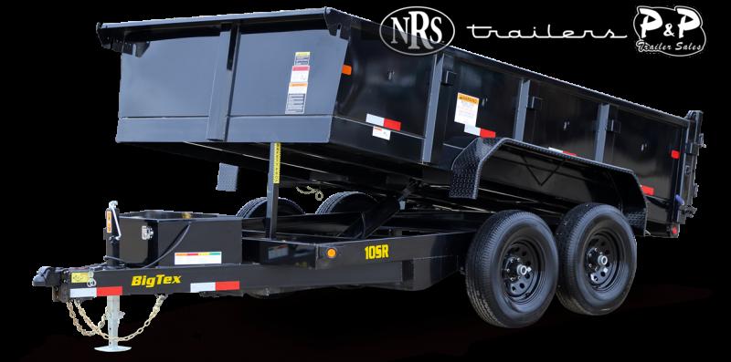 2021 Big Tex Trailers 10SR-12XLBK7SIR 12 ' Dump Trailer