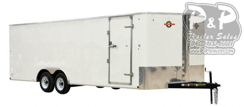 2021 Carry-On 8.5X24CGRBN10K 24 ' Enclosed Cargo Trailer