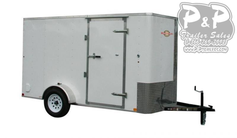 2021 Carry-On Cargo Trailers 6X12CGRBN Enclosed Cargo Trailer