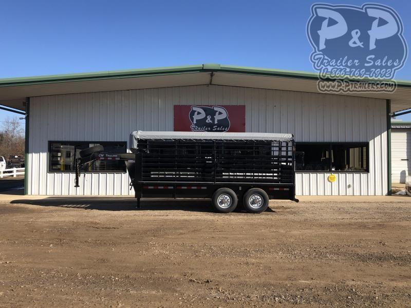 """2020 CM CMS9440-1600260 192 """" Livestock Trailer"""