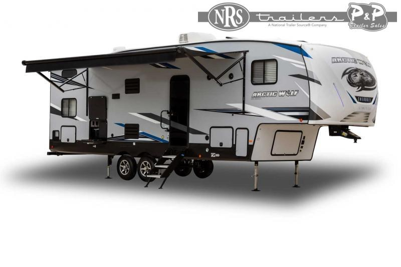 2022 Forest River Arctic Wolf 3880SUITE 43 ' Fifth Wheel Campers RV