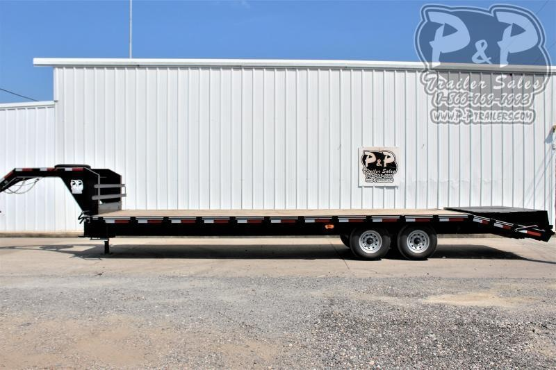 2021 P and P PPGN24+5x102HDMR Flatbed Trailer
