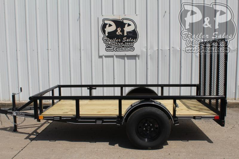 2020 P and P PPSA10X60LDRGPT *** 5' x 10' *** Utility Trailer