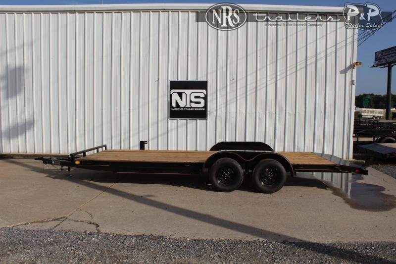 2021 P and P PPWFCH20X83GDSR 20 ' Flatbed Trailer