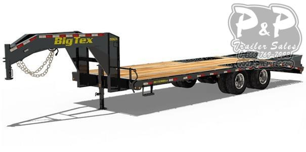 2021 Big Tex Trailers 20GN-205 Equipment Trailer