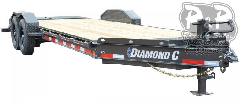 2021 Diamond C Trailers LPX 20 ' Flatbed Trailer