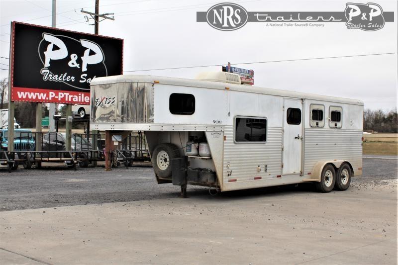 2006 Exiss Trailers 3H 3 Horse Slant Load Trailer 7 FT LQ