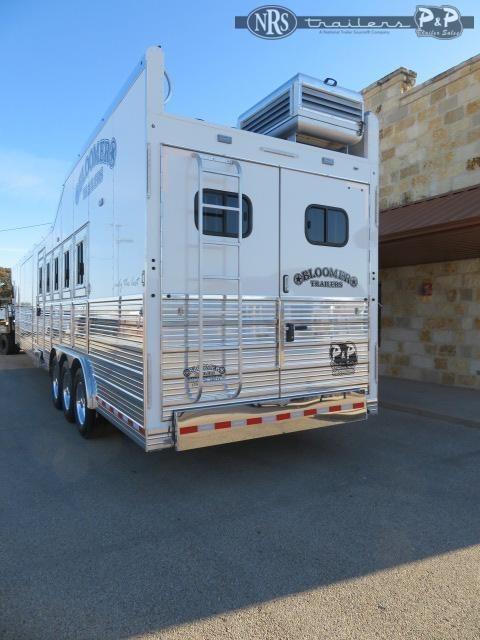 2021 Bloomer 8519PCOL PC Outlaw Conversion 5 Horse Slant Load Trailer 19 FT LQ w/ Slideout