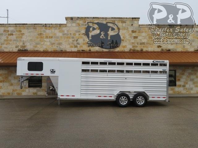 2020 Cimarron Trailers Lonestar 20 ' Livestock Trailer