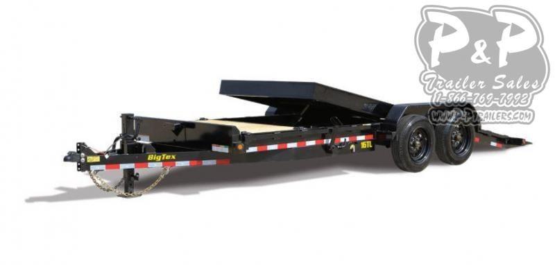 2021 Big Tex Trailers 16TL 22BK 22 Equipment Trailer