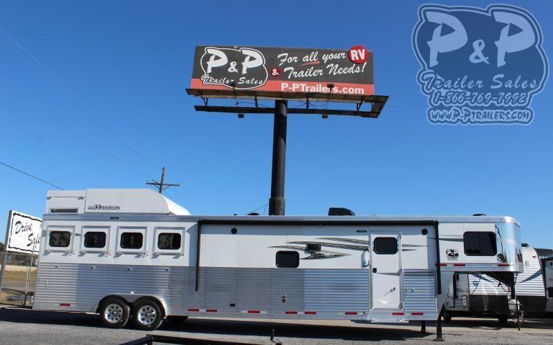 2021 Lakota Charger C8415SRB 4 Horse Slant Load Trailer 15 FT LQ With Slides