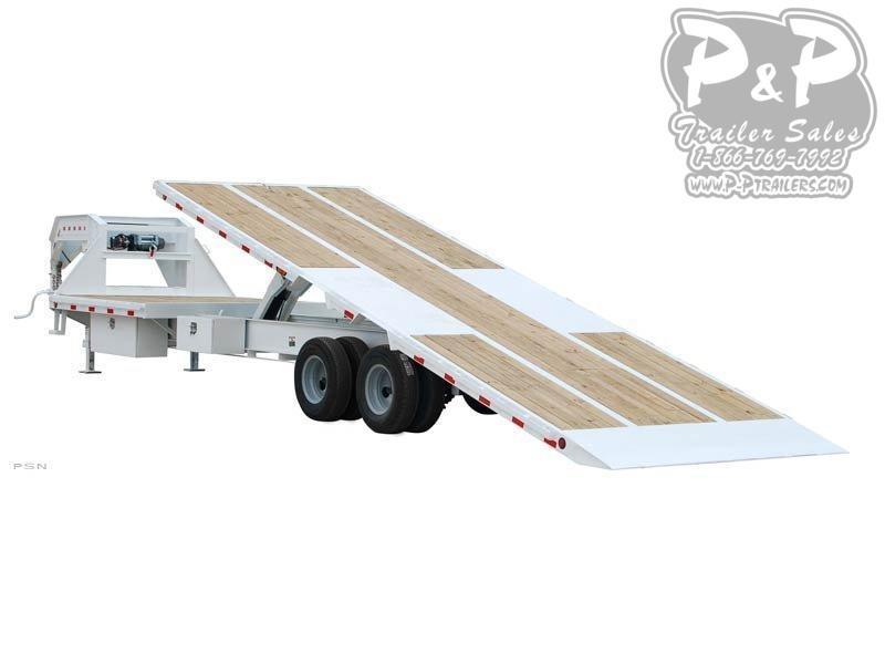 2021 PJ Trailers Tandem Dual Tilt (TD) Flatbed Trailer