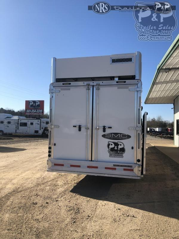 2021 SMC Horse Trailers SL8418SCEBT 4 Horse Slant Load Trailer 18 FT LQ w/ Slideouts