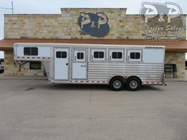 2015 Elite Trailers 4HGN 4 Horse Slant Load Trailer